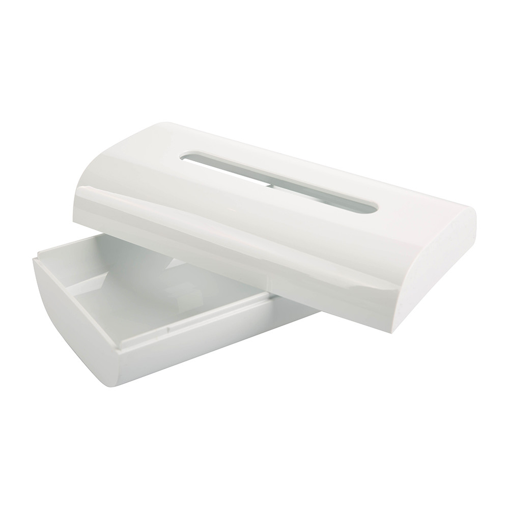 Alessi - Birillo Tissue Box - White