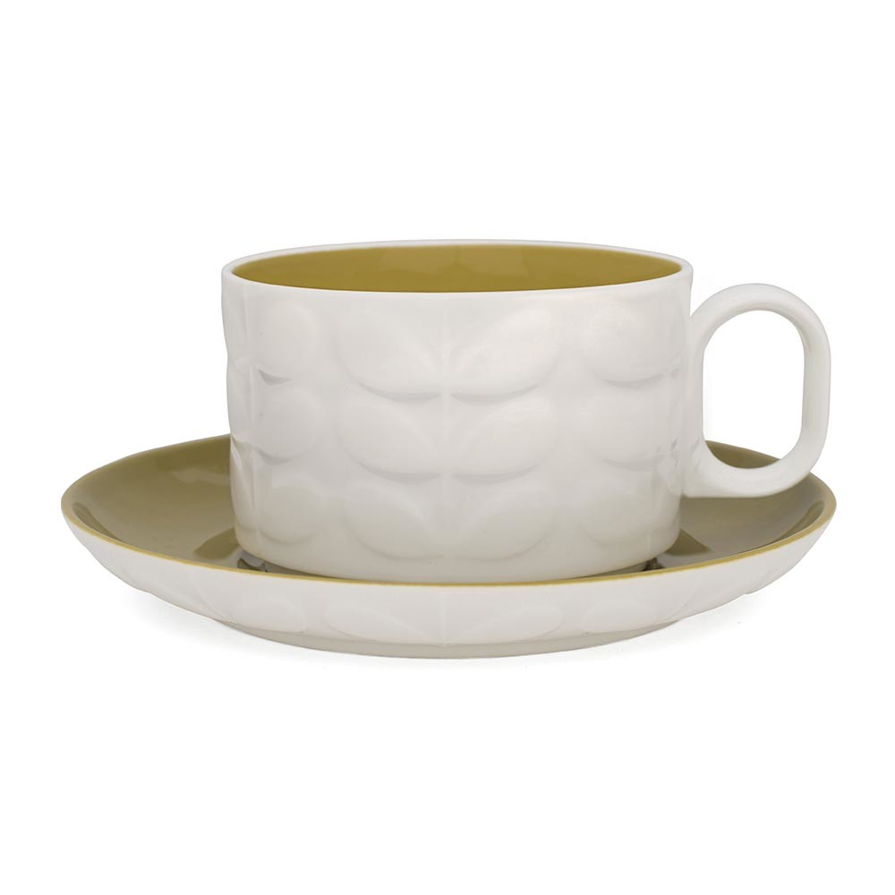 buy orla kiely raised stem cappuccino cup  set of   amara - previous