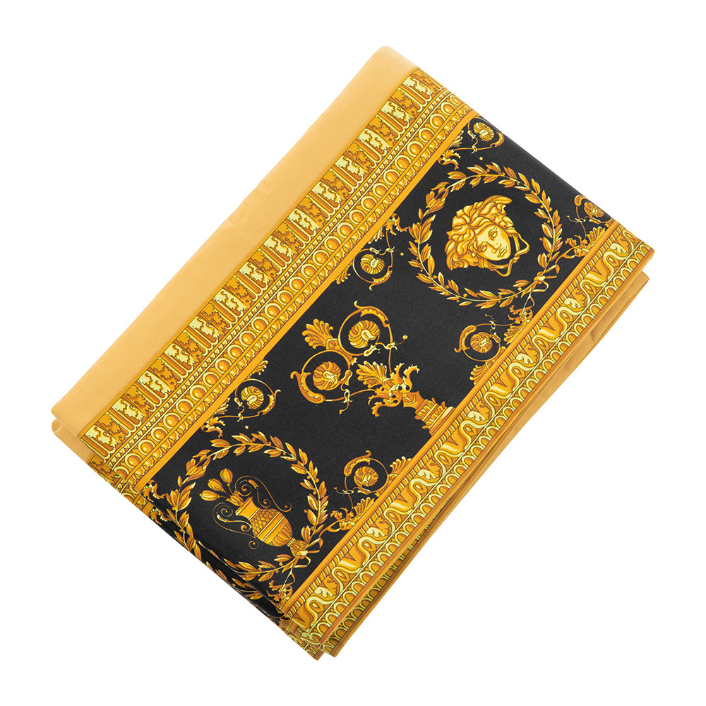 Versace Home - Barocco&Robe Flat Sheet - 270x300cm - Gold/Black