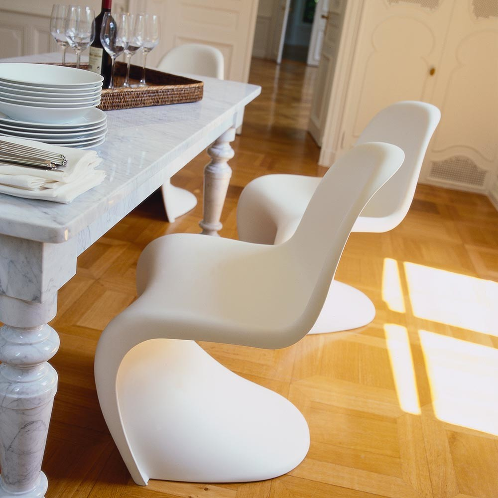 buy vitra panton chair white amara. Black Bedroom Furniture Sets. Home Design Ideas
