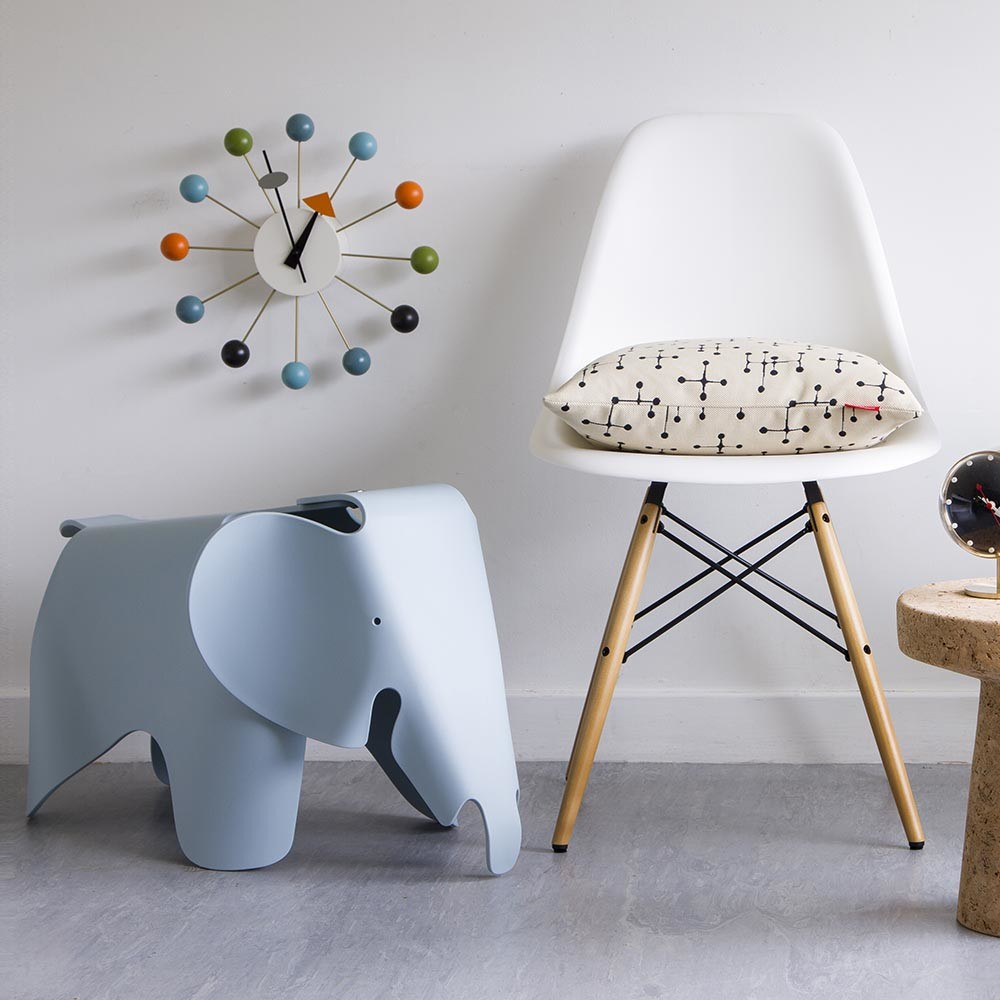 buy vitra eames elephant ice grey amara. Black Bedroom Furniture Sets. Home Design Ideas