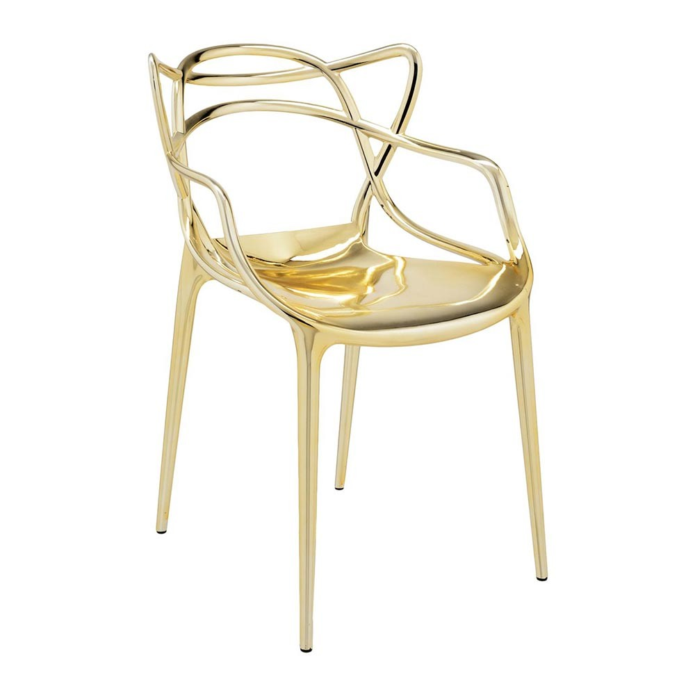 Buy kartell masters chair gold amara - Chaises kartell masters ...