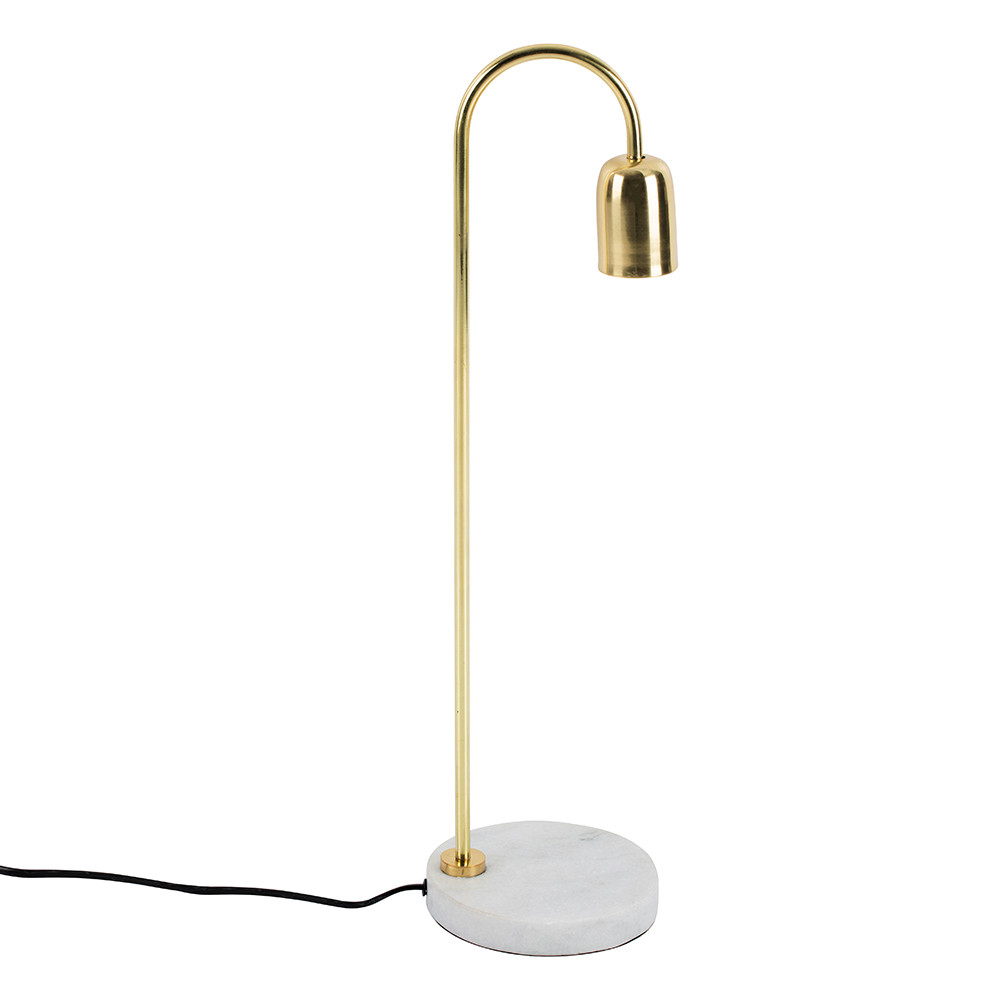 Bloomingville - Table Lamp - Marble/Brass