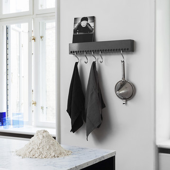 So-Hooked Wall Rack - Black