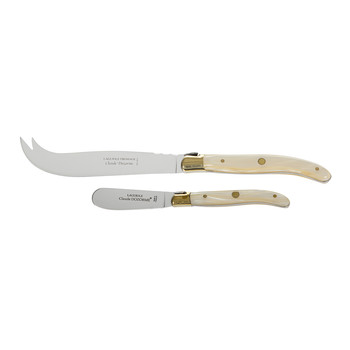 Cheese & Butter Knives - Natural