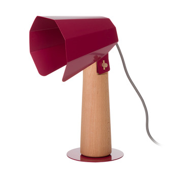 Brother Side Lamp - Red