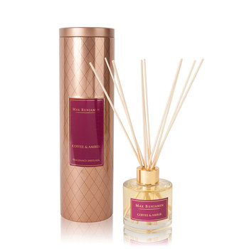 Diffuseur d'Ambiance à Roseaux - 100ml - Coffee & Amber