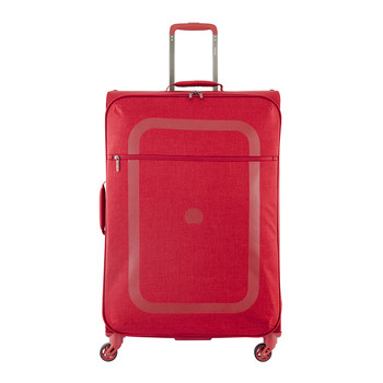 Dauphine 2 4 Wheel Trolley Case - Red