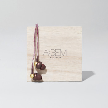 aGem In-Ear Headphones - Plum