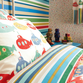 Up Periscope Kids Duvet Cover set - Single