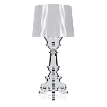 Bourgie Lamp - Chrome