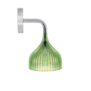 E Wall Mounted Lamp - Green