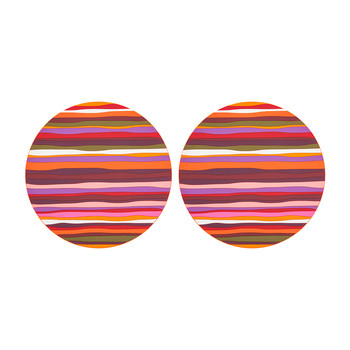 Set of 2 Round Placemats - Zafaf
