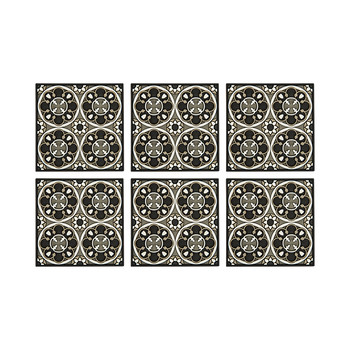 Set of 6 Coasters - Sejjadeh Rosace