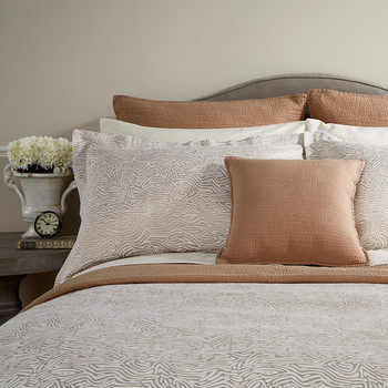 Flow Duvet Cover - Linen
