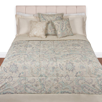Azay Ikat Quilted Bedspread - 800