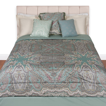 Brunei Quilted Panel Bedspread - 500