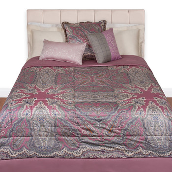 Brunei Quilted Panel Bedspread - 650