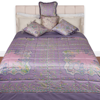Chinon Print Quilted Bedspread - 450