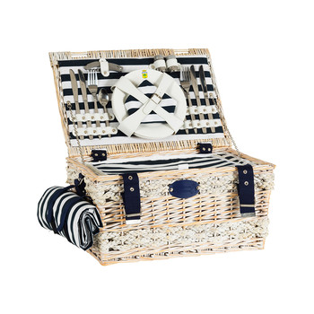 Marine Picnic Basket - 4 Person