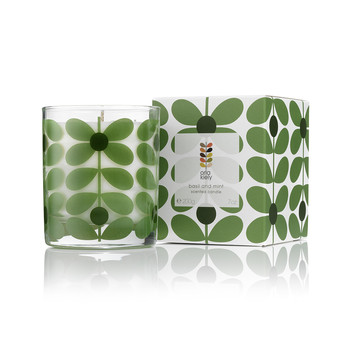 Basil & Mint Scented Candle - 200g