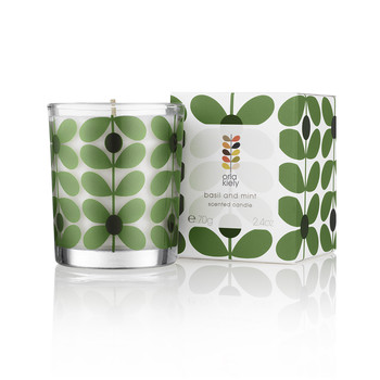 Basil & Mint Travel Candle - 70g
