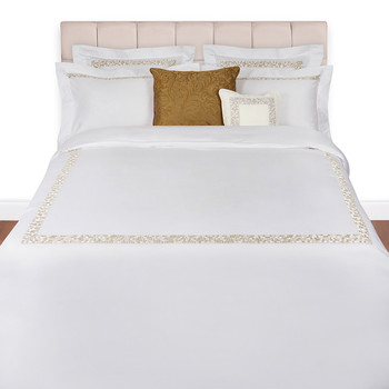 Mosaico Duvet Set - Super King - Gold