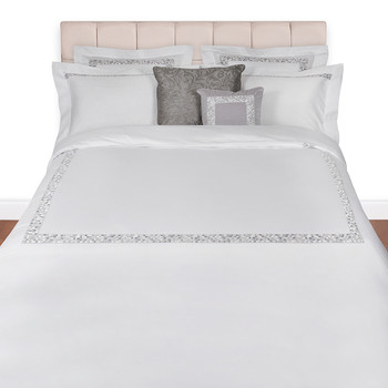 Mosaico Duvet Set - Super King - Silver