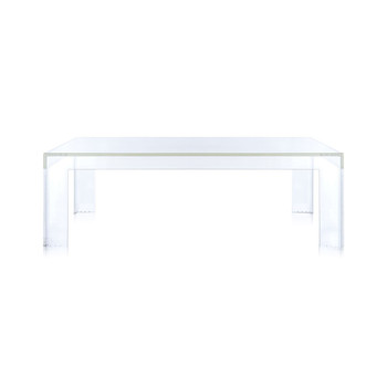 Small Invisible Table - Crystal