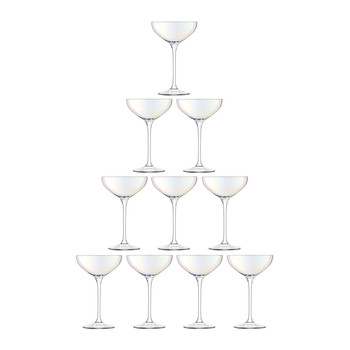 Tower Champagne Set - 10 Piece - Mother of Pearl