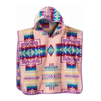 Chief Joseph Hooded Children's Towel - Pink