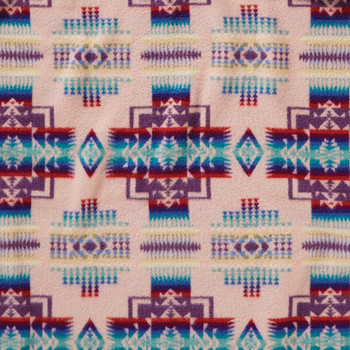 Chief Joseph Children's Blanket - Pink
