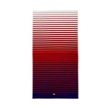 Honolulu Beach Towel - Red