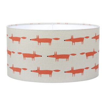 Little Fox Ginger Lamp Shade - Ceiling