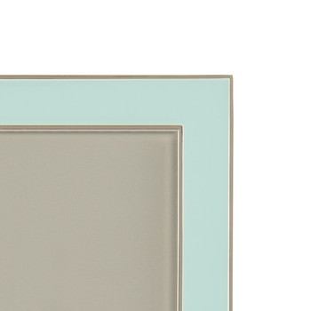 Light Blue Enamel Photo Frame