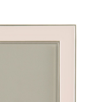 Light Pink Enamel Photo Frame