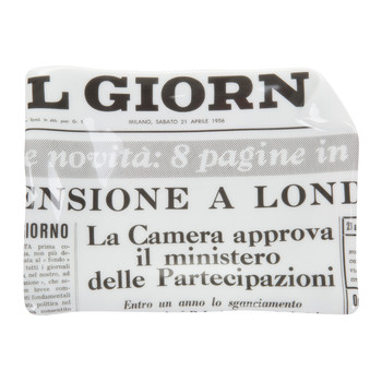 Giornali The Times Sheet Ashtray/Trinket Tray
