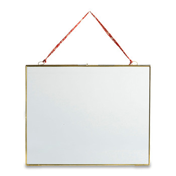 Kiko Antique Brass Landscape Frame