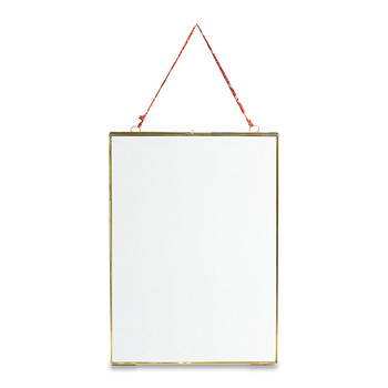 Kiko Antique Brass Portrait Frame