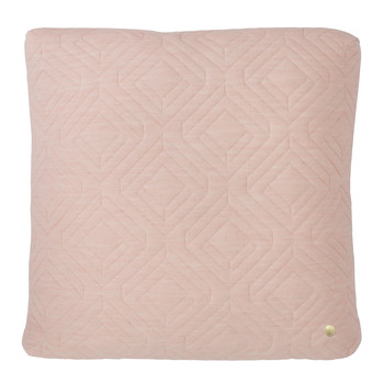 Quilted Pillow - 45x45cm - Rose