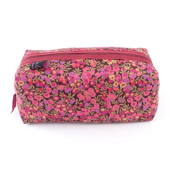 Fabric Cosmetic Bag - Liberty Wiltshire Purple