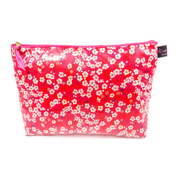 Wash Bag1 - Liberty Mitsi Hot Pink