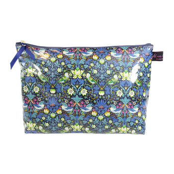 Wash Bag1 - Liberty Strawberry Thief Blue