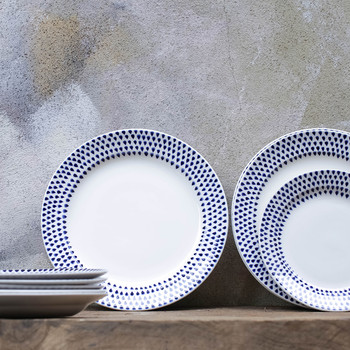 Indigo Drop Side Plate