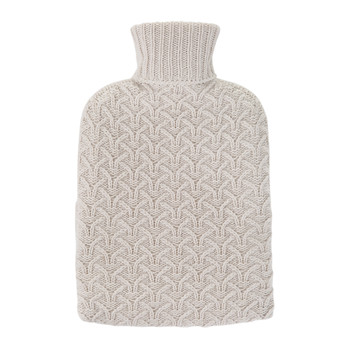Boyd Cashmere Hot Water Bottle - Swansdown