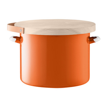 Utility Bread Bin & Ash Board - Pumpkin Orange