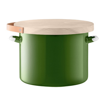 Bread Bin & Ash Board - Sage Green