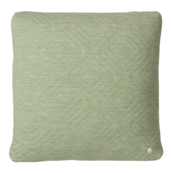 Quilted Pillow - 45x45cm - Green