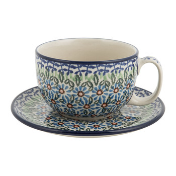 Breakfast Cup & Saucer - Meadow