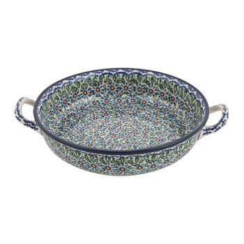 Round Oven Dish - Meadow